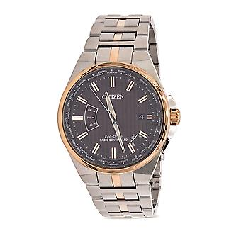 Citizen Eco-Drive World Perpetual A-T World Time Mens Watch CB0166-54H