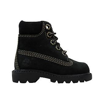 Timberland Classic 6 Inch Boot Black/nubuck 11803 Toddler