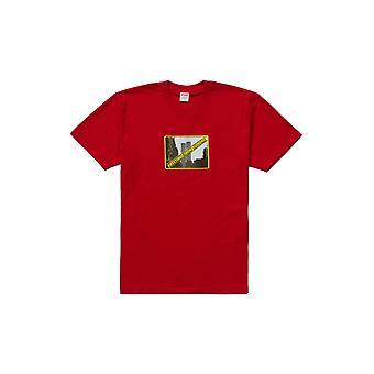 Supreme Greetings Tee Red - Clothing