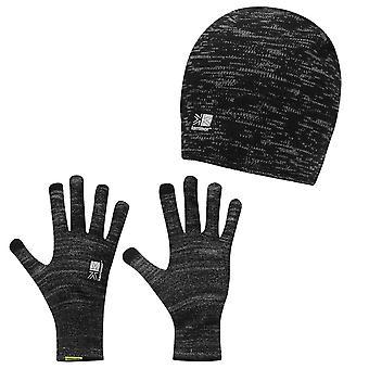 Karrimor Mens Hat and Glove Set