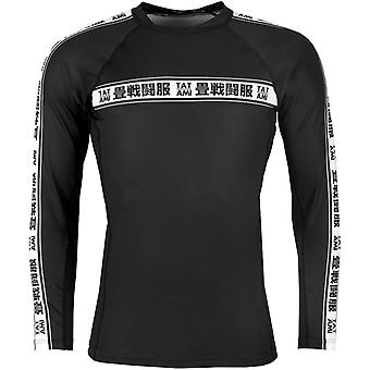 Tatami Fightwear Worldwide Jiu-Jitsu Long Sleeve Rashguard - Black