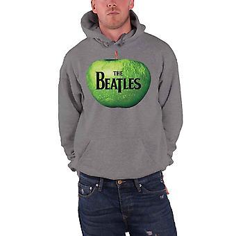 The Beatles Apple logo officiella mens nya grå pullover hoodie