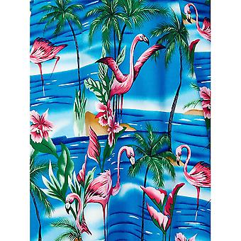 Collectif Vintage Women's Dolores Doll Flamingo Island Print Dress