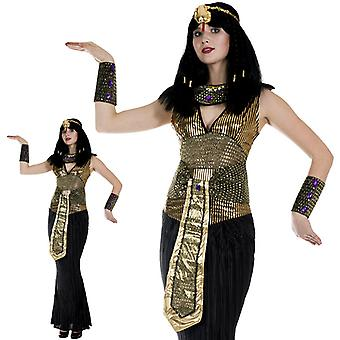 Cleopatra Egyptian Pharaoh Queen Empress costume ladies