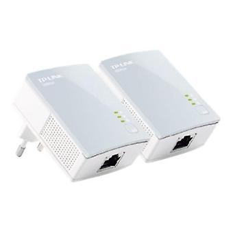 TP-Link TL-PA411KIT Mini Powerline Adapter Kit (Twin Pack)