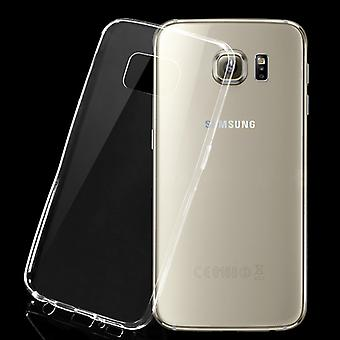 iCoverCase | Samsung Galaxy S6 |  Transparent TPU Skal