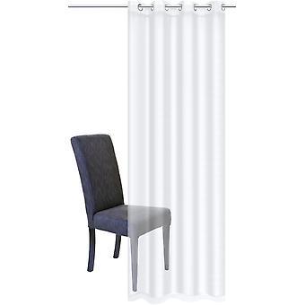 Home Wohnideen Vorhang »Dolly« Gardine weiß mit Ösen H/B 245x140 cm