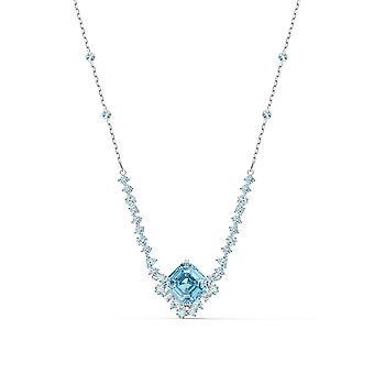 COLLIER Swarovski 5524137 - Silverkristaller och blå pärlhalsband