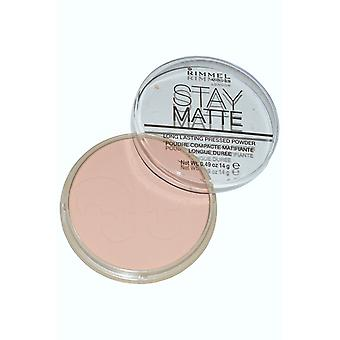 Rimmel London Stay Matte Long Lasting Pressed Powder 14g Mohair [#007]