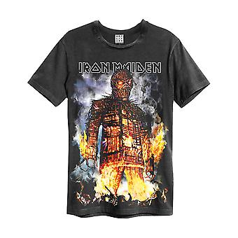 Iron Maiden amplificado The Wicker Man Men't-shirt