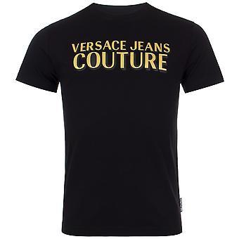Versace Jeans Couture Slim Fit Multi Logo T-Shirt