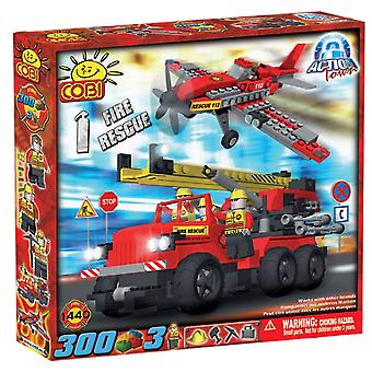 Action Town 300 Piece Fire Rescue Construction Set