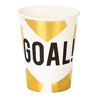 Football Party Champions Paper Party Cups x 12