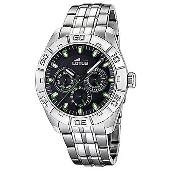 Lotus watches Quartz Analog Man Watch with Stainless Steel Bracelet 15814/E