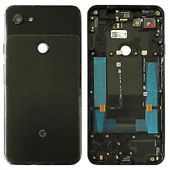 Google Battery Cover for Pixel 3A XL Black Jet Black Battery Cover Spare Part Backcover Lid Battery