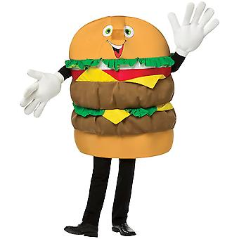 Cheeseburger Waver Kostym Vuxen
