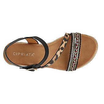 Cipriata sandalias de cuña para mujer/señoras Fatina