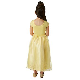 Disney Princess Girls Live Action Belle Deluxe Costume