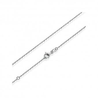 sterling sølv halskjede med hummer lås - 5384