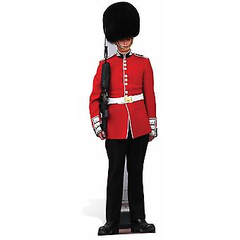 The Queen's Guard Royal Family Guardsman Lifesize Cardboard Cutout / Standee / Stand Up