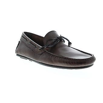 Sebago Tirso Tie FGL Mens Brown Wide Loafers & Slip Ons Mocassin Schoenen