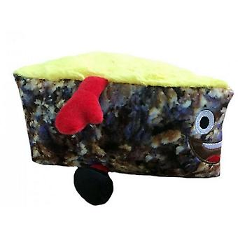 Animate Christmas Cake Face With Legs Dog Toy