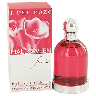 Halloween Freesia by Jesus Del Pozo Eau De Toilette Spray 3.4 oz / 100 ml (Women)