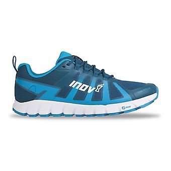 Inov8 Terraultra 260 mens bredere montage & Zero drop Trail Running Shoes blauw/wit