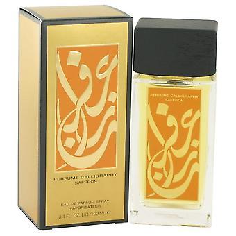 Calligraphy Saffron Eau De Parfum Spray By Aramis 3.4 oz Eau De Parfum Spray