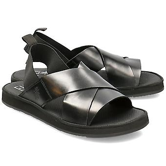 Flyv London Blak P501185000 universelle sommer mænd sko