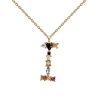 Pdpaola Women-apos;s Letter I Plated Necklace