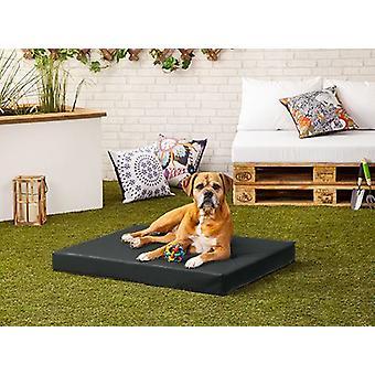Pet Klub Musta & Rocky' PVC vesi ja pureskella kestävä pieni koira bed - 80cm x 60cm