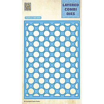 نيلي & أبوس؛s اختيار الطبقات كومبي يموت فقاعات (طبقة A) LCDBU001 10,5x14,8cm