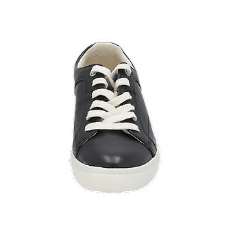 Timberland AMHERST LACE OX JET BLACK Women's Sneaker Black Gym Shoes