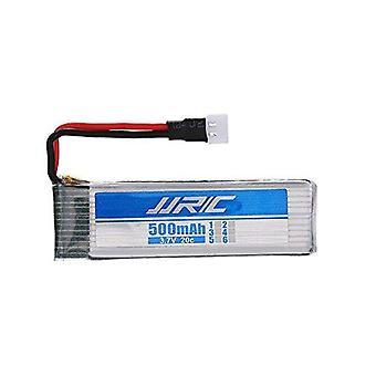 1 Batteriestück li-po passend für Drohnen h37 ab 3.7 v 500mah 20c