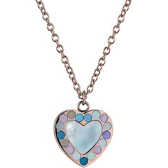 Jacques Lemans - necklace with mother-of-pearl pendant - S-C70D