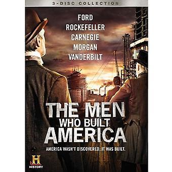 Die Männer, die gebaut Amerika [3 CDs] [DVD] USA Import