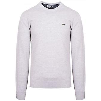 Lacoste Light Grey Round Neck Jumper