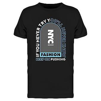 Nyc Fashion Tee Men's -Imagen por Shutterstock