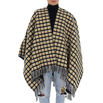 Gucci 5975244g2004076 Unisex Multicolor Wool Poncho