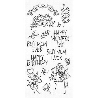 My Favorite Things Mother's Day Bouquet Clear Stamps