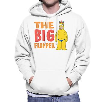 Simpsonit Big flopper Miesten huppari