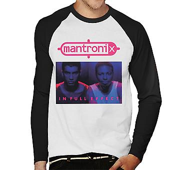 Mantronix In Full Effect Men's Baseball Long Sleeved T-Shirt