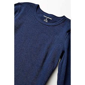 أساسيات بوي & apos;ق الحرارية مجموعة الملابس الداخلية الطويلة, البحرية, X-Large