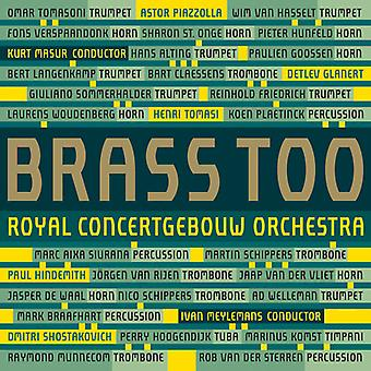 Shostakovich / Glanert / Tomasi / Piazzolla - Brass Too [SACD] USA import