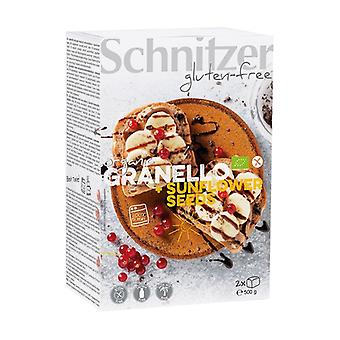 Gluten-free bread with sunflower seeds (granello) 2 units