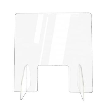 Acrylic Sneeze Guard Shield - Clear Perfection Reception Side Sale Counter Sprayed Uv Cut Transparent Height Protection Screen