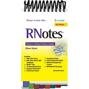 RNotes R by Myers & Ehren