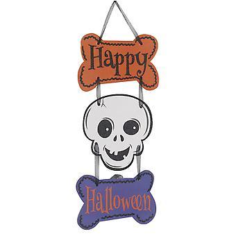 YANGFAN Halloween Terrorist Ghost Skull Door Pendant Hanging Tag