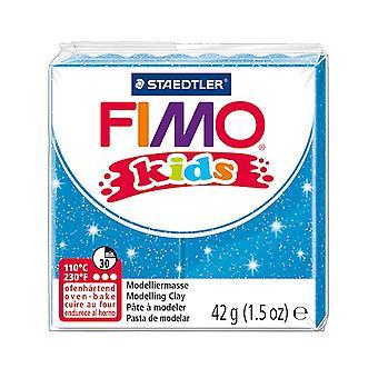 Fimo Kids® Glitter Modelling Clay in Blue | Michaels®